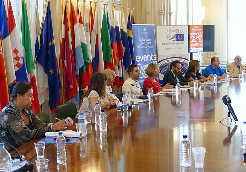 The Press Conference for the 1st European Sport & Physical Exercise Event for Mental Health