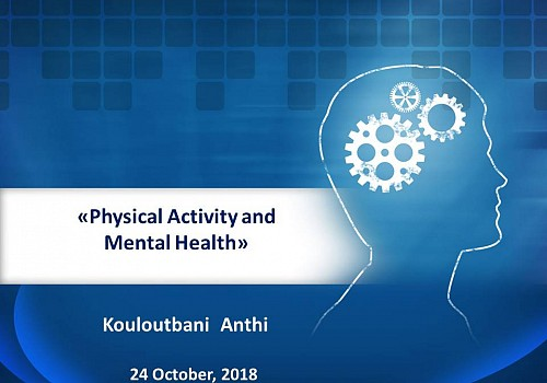 PHYSICAL ACTIVITY & MENTAL HEALTH